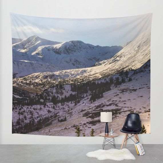 Colorado Wall Tapestry Nature Decor Large Wall Art By Lost Kat Photo Tapestry Nature Nature