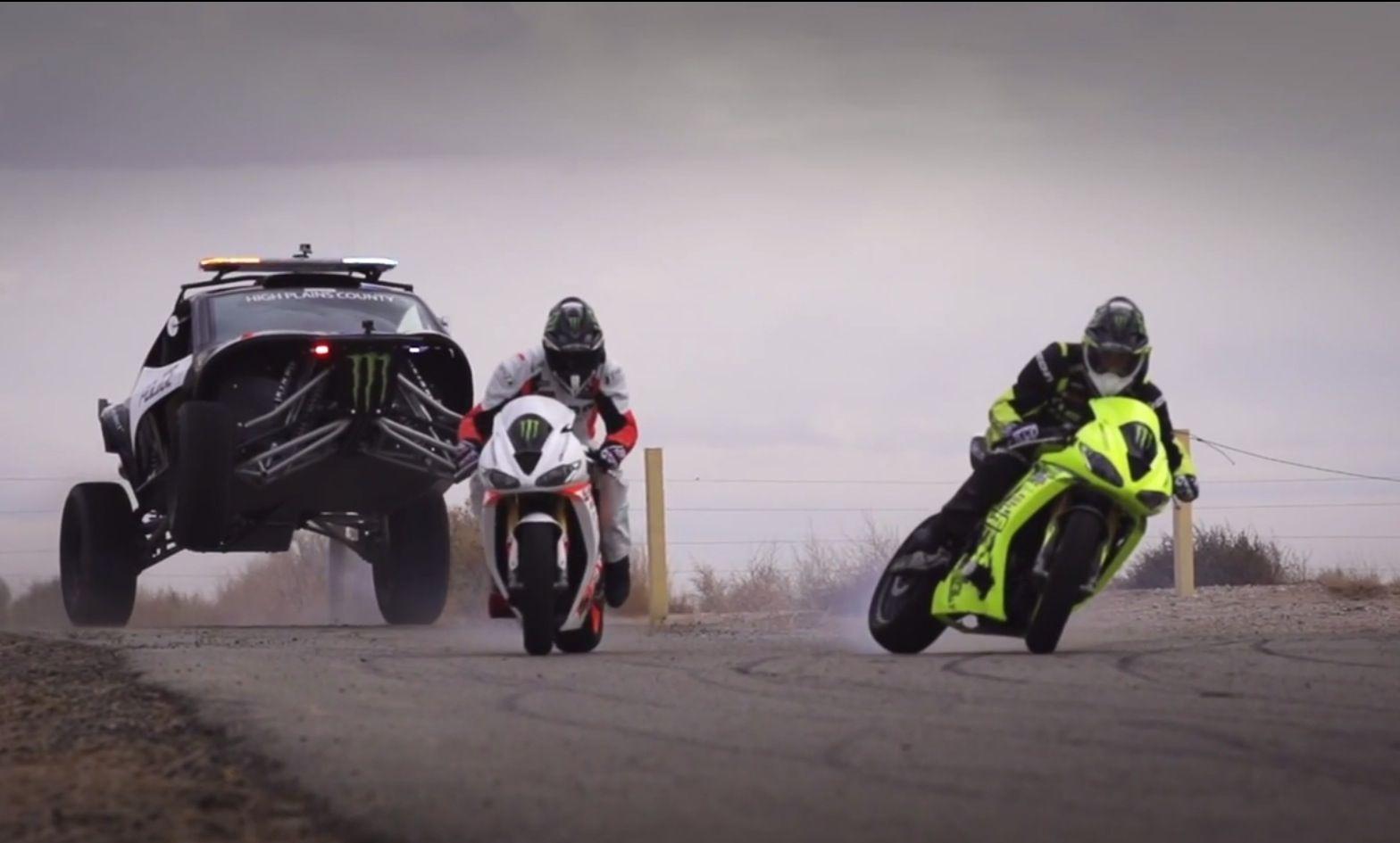 Icon Turbo Triumph Daytona Drift Bikes Video Daytona