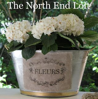 The North End Loft French Flower Pots French Flowers Flower Pots Flower Vase Arrangements