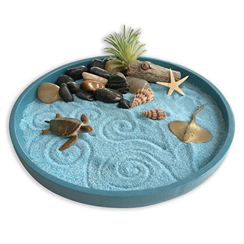 Mini Zen Garden Sea Life A Day At The Ocean Desktop San Https Www Amazon Com Dp B07cbty74h Ref Cm Sw Mini Zen Garden Miniature Zen Garden Zen Garden Diy