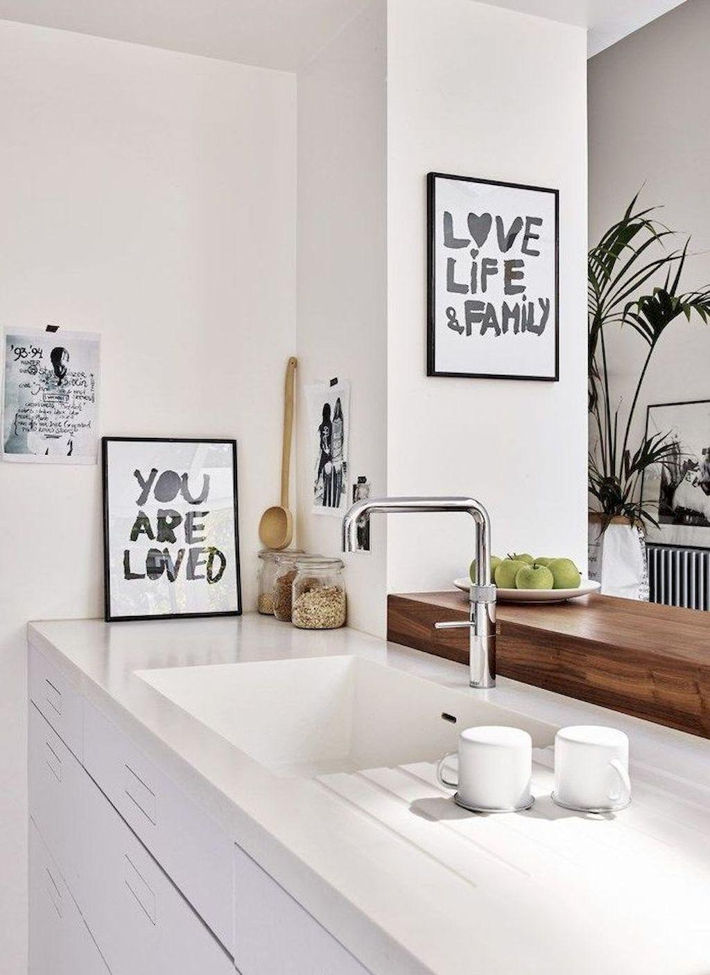 29 Gorgeous White Kitchen Cabinet Design Ideas (With ...