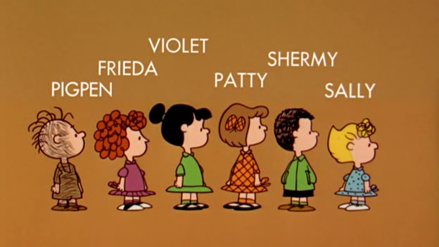 The Peanuts Gang Charlie Brown Characters Snoopy Love Charlie