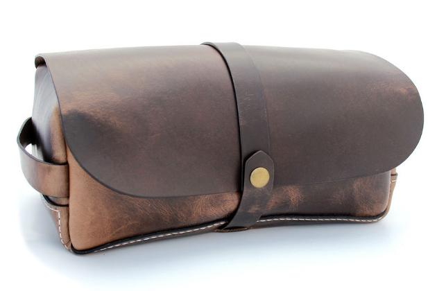 Teranishi Leather Dopp Kit