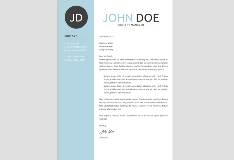 The Best CV  Resume Templates 50 Examples Cv resume template - resume name examples