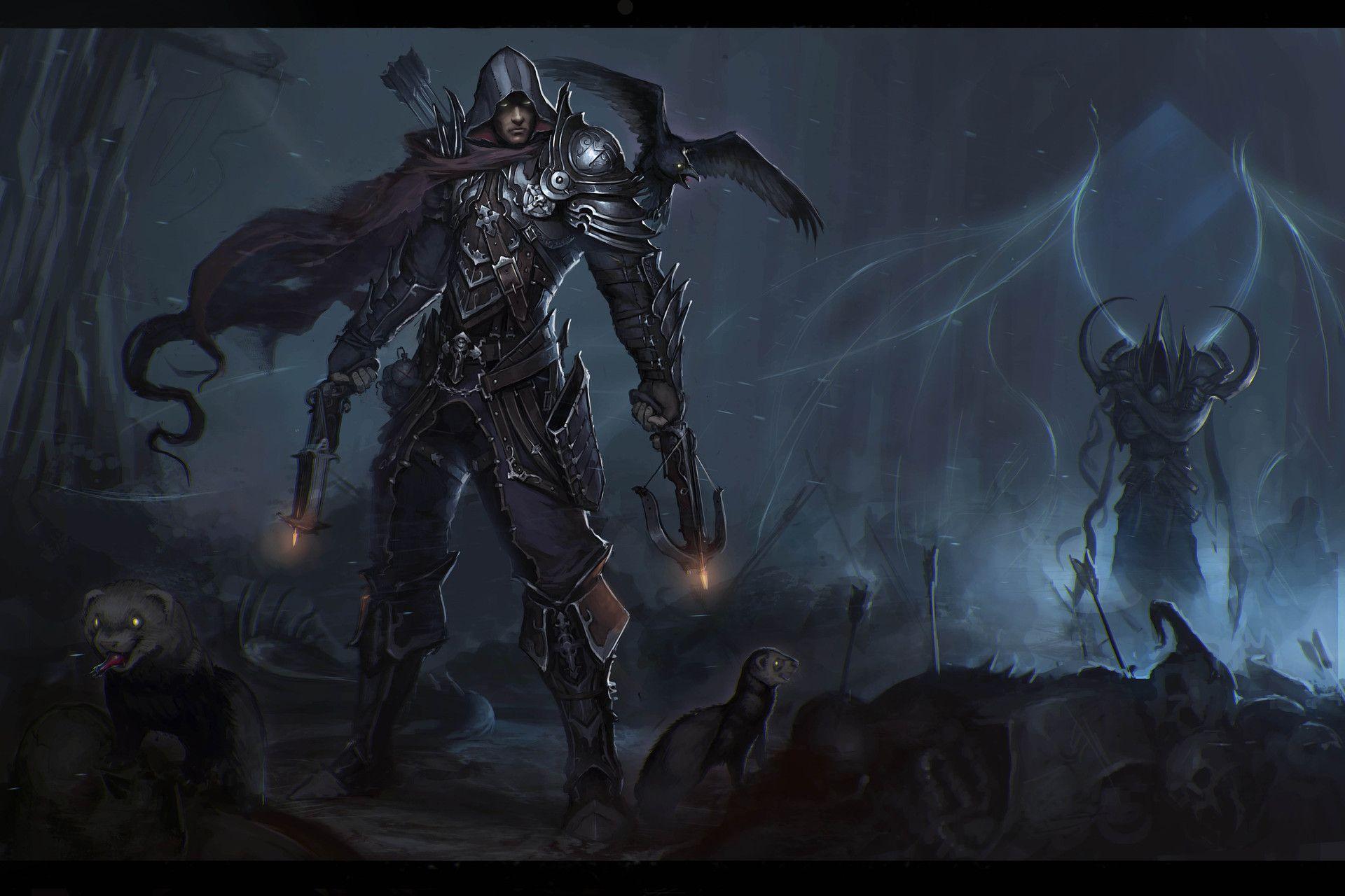 Diablo 3 Demon Hunter 1920 1280 Diablo Demon Hunter Demon
