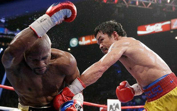 Mayweather Vs Pacquiao Rematch Hopes Hit By Manny Shoulder Injury Live Floyd Mayweather Manny Pacquiao Floyd Mayweather Fight