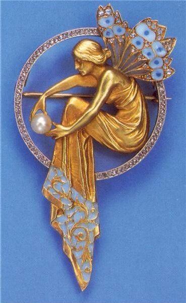 Art Nouveau By Ren 233 Lalique In 2019 Art Deco Jewelry