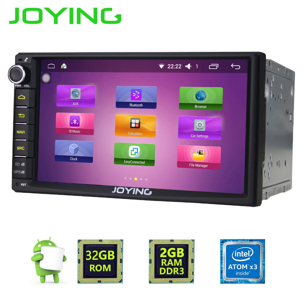 Newest Joying 2gb Ram 2din 7inch Android 6 0 Car Radio Audio