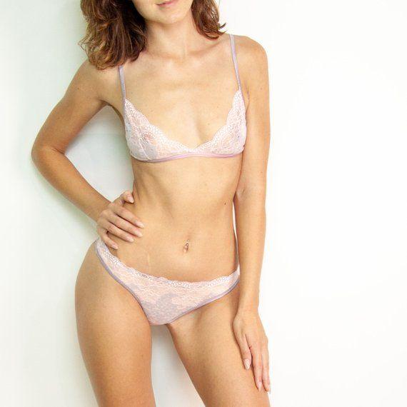 875d5c8385 blush wedding lace Luxury lingerie intimates Women underwear set Erotic  sheer See through nighty Bri