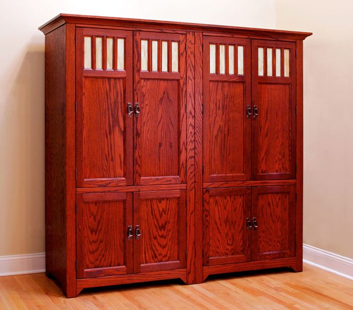Best Cherry Stained Cabinets Red Oak Cabinets With Black 400 x 300