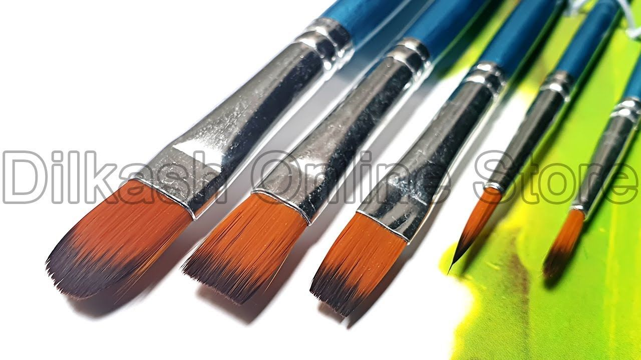 Mix Brush Set Royal Art Paint Brush Set Ra 2606 Dilkash Online