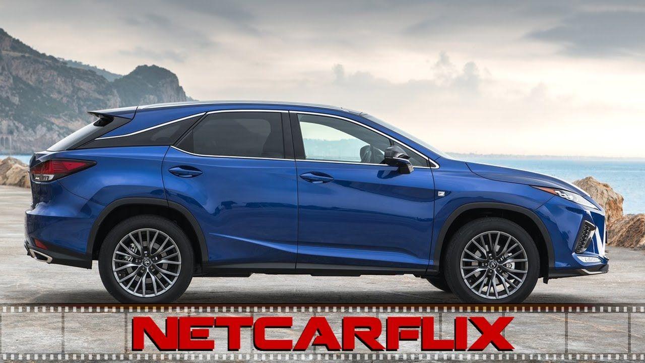 2020 Lexus Rx 300f Sport Deep Blue Mica Driving Interiors Exteriors Lexus Deep Blue Interior And Exterior