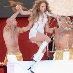 Jennifer Lopez al Good Morning America e il siparietto osé brasiliano