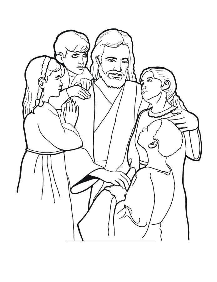 free printable jesus coloring pages for kids - Jesus Coloring Pages Free Printable