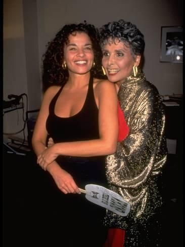 Premium Photographic Print: Lena Horne Hugging Daughter, Writer Gail Lunet Buckley, after Concert at Carnegie Hall, NYC : 24x18in #celebritymoms