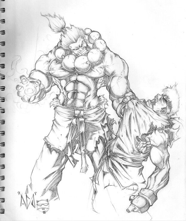 Akuma Vs Ryu Street Fighter Art Akuma Street Fighter Capcom Art