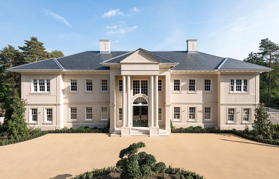 Woodrow A 24 5 Million 22 000 Sq Foot Mega Mansion In Surrey England With 10 Bedrooms And 15 Bathrooms Surrey House Mansions House