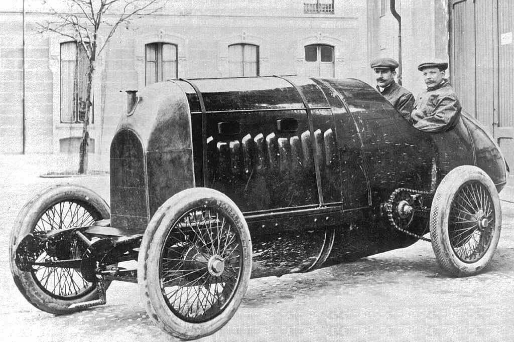 1909 Fiat - The Monster | The Old Motor | automobiles - original ...