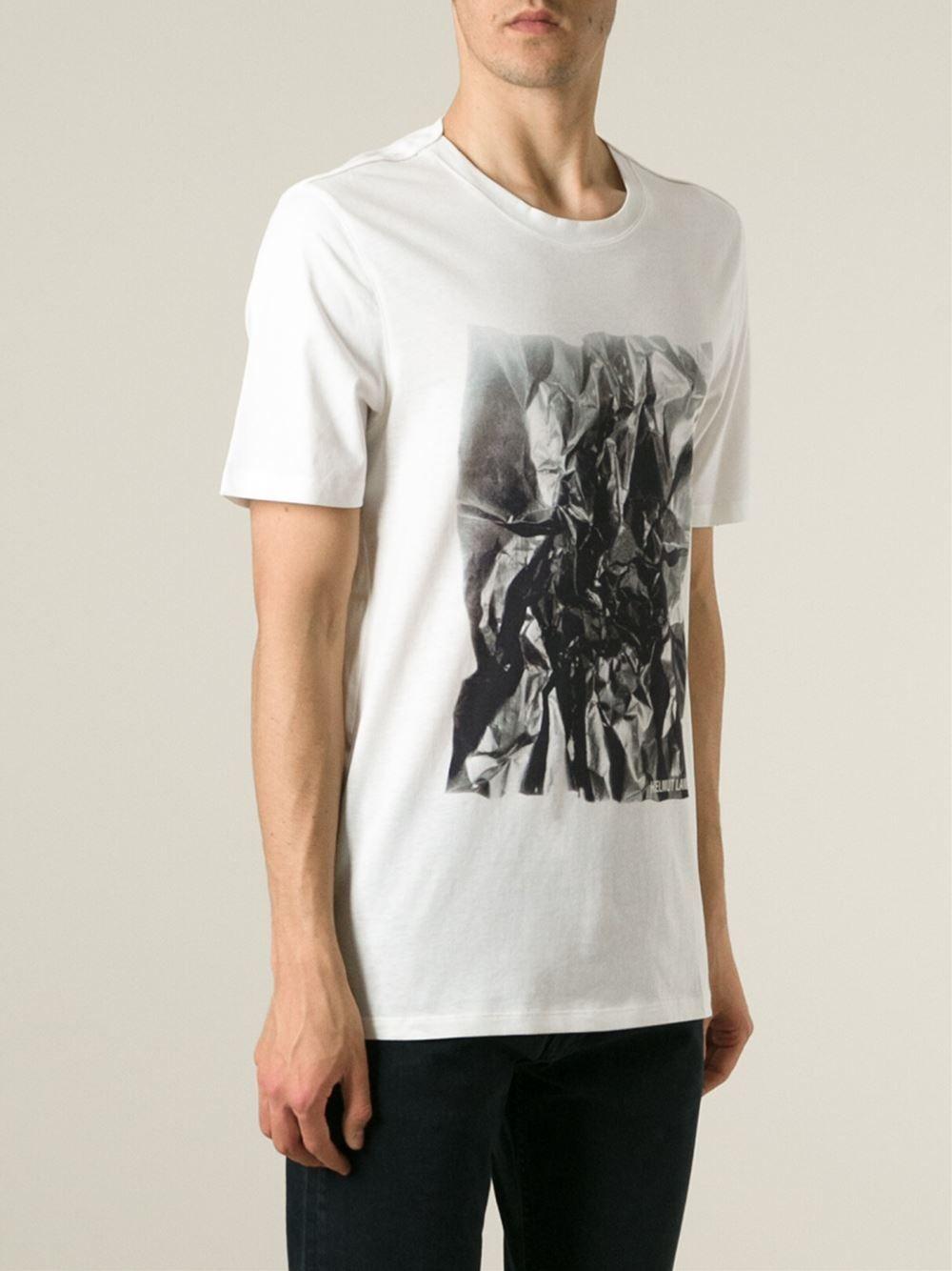 #helmutlang #tshirt #prints #man #summer #sales www.jofre.eu