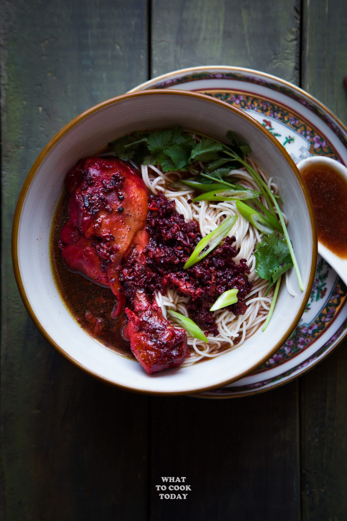 Foochow Red Wine Chicken Noodle Soup Ginger Red Wine Chicken Recipes Confinement Food