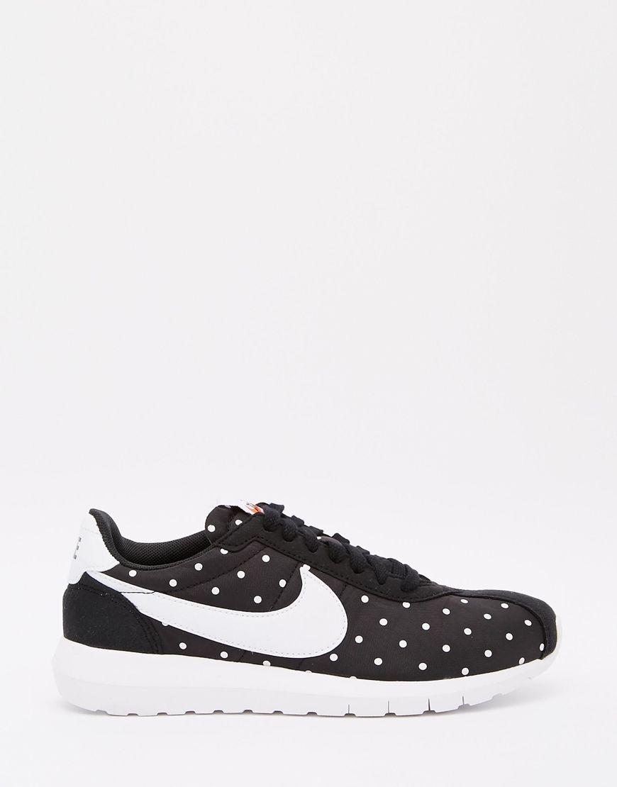 Image 2 - Nike - Roshe LD1000 - Baskets à pois - Noir et blanc