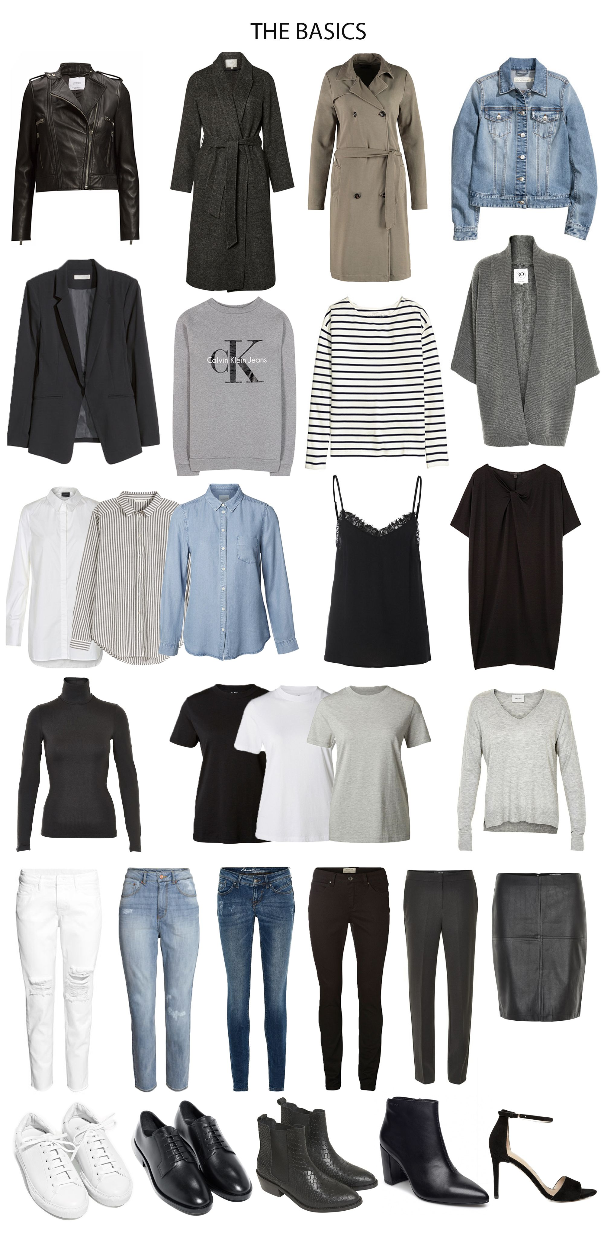 My Own Capsule Wardrobe Fashion Capsule Minimalist