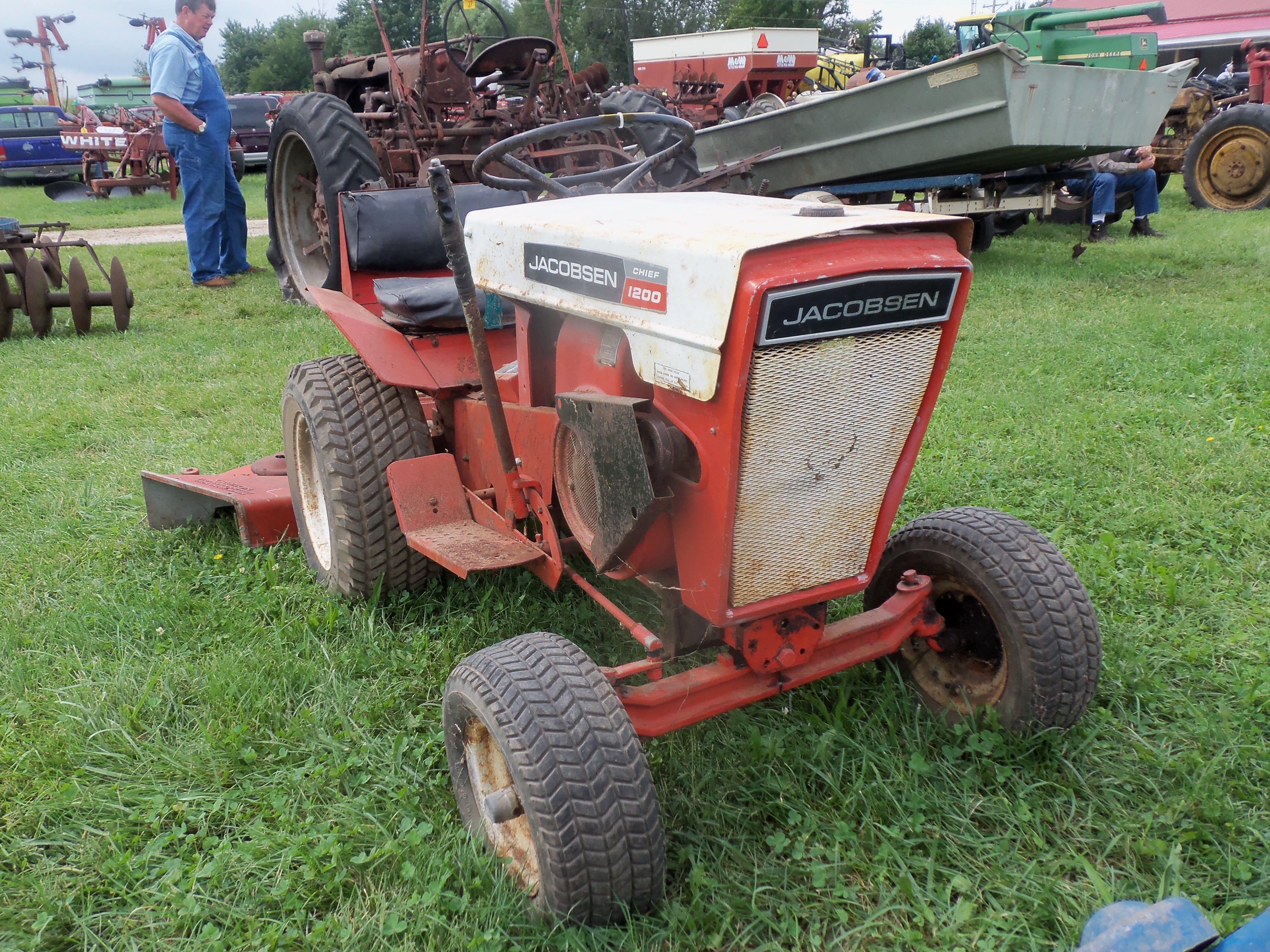 Jacobson 1200 Lawn Garden Tractor Garden Tractor Lawn Tractor