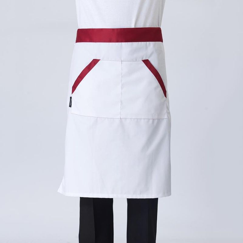Restaurant Kitchen Aprons retail waist aprons cafe restaurant hotel waiter chef uniform half