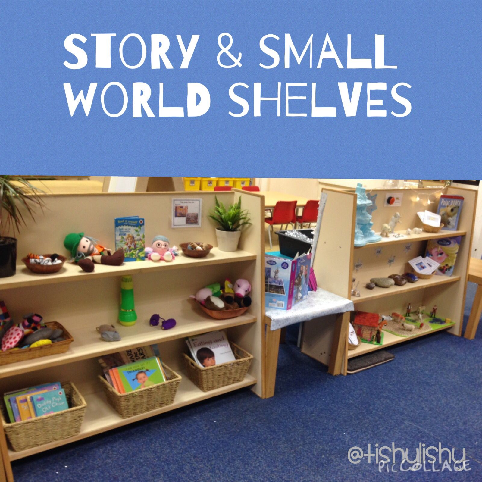 Decorate Small Reading Area: New Small World Story Shelves In The Reading And Writing
