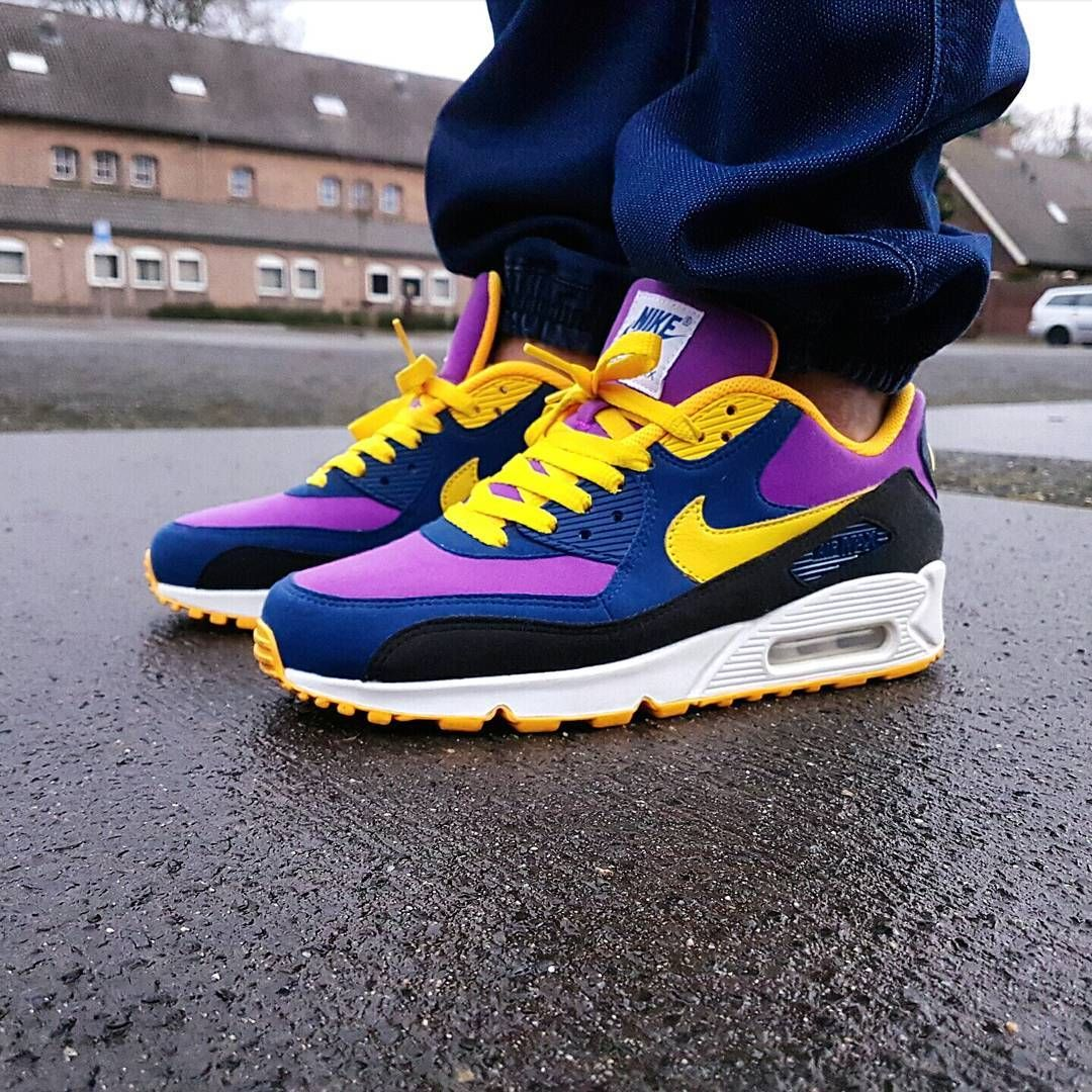 purchase cheap best service temperament shoes Nike Air Max 90 x BRS Inspired NikeiD 📷 @pattajunky | Nike ...