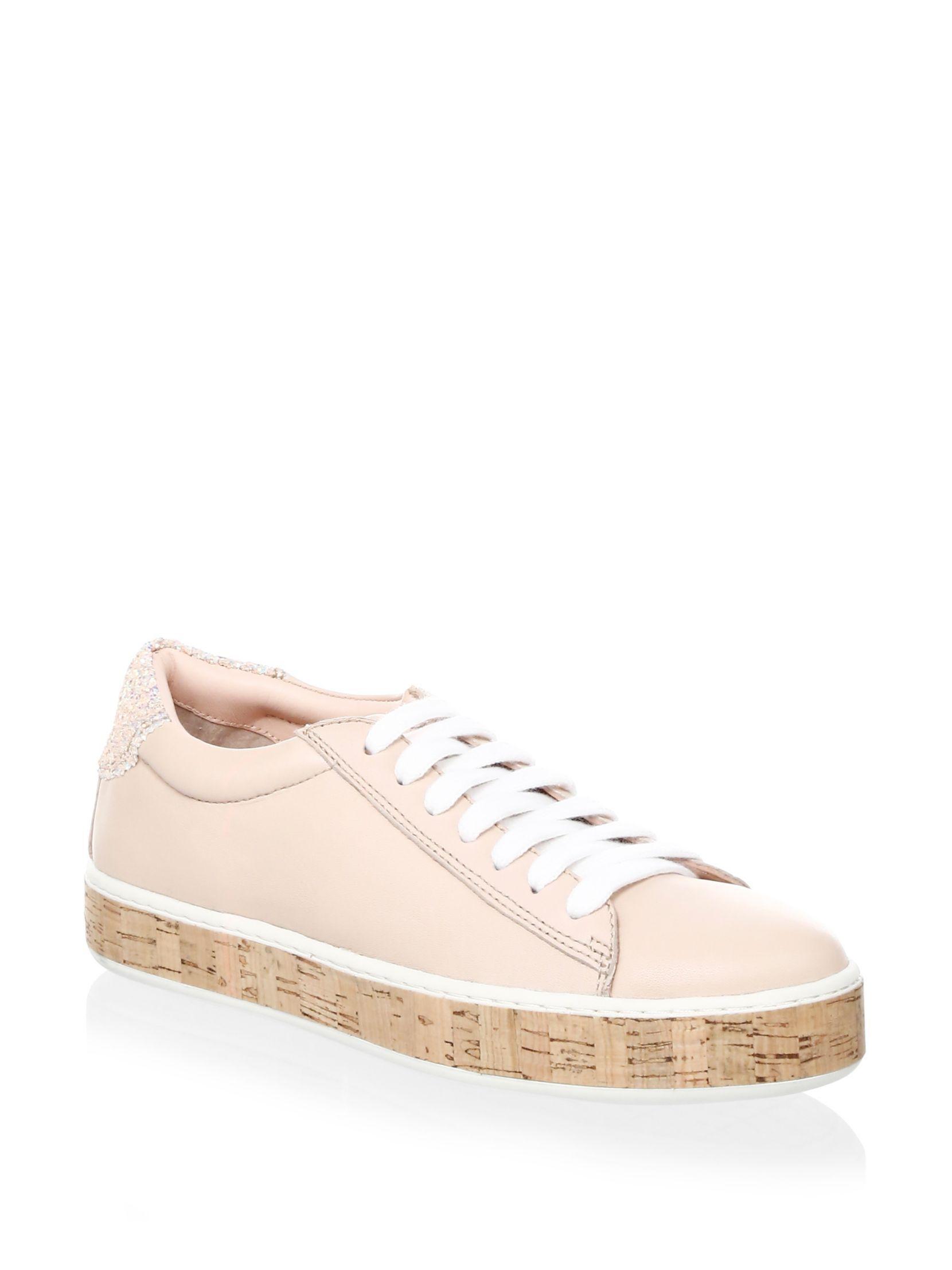 Kate Spade New York Amy Leather Platform Sneakers xOtLgp