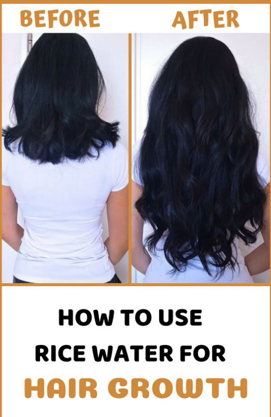 Powerful Rice Water Recipes For Healthy Natural Hair Growth In Just 1 Week  #fasterhairgrowth