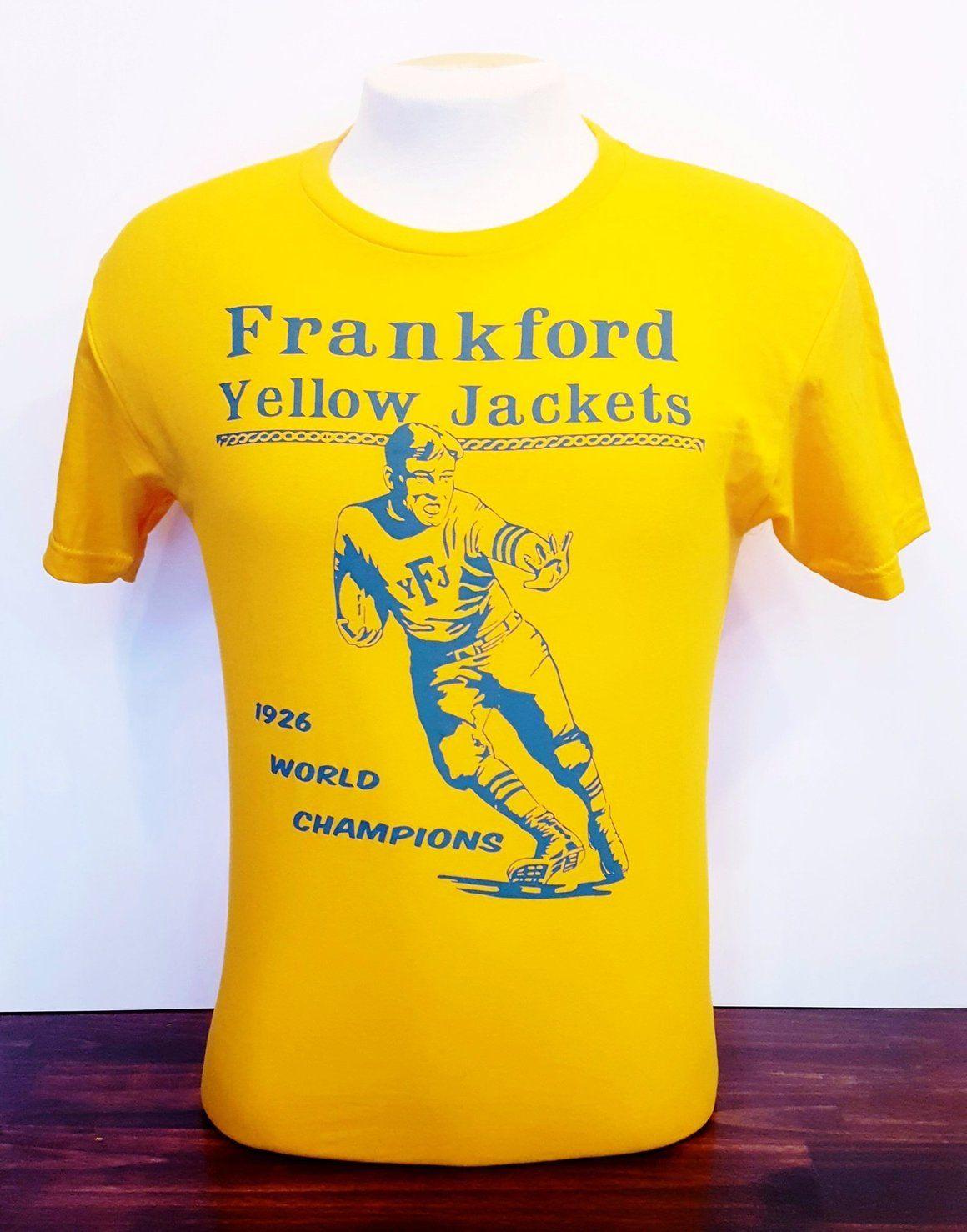 Frankford Yellow Jackets Tshirt Shirts, Team t shirts