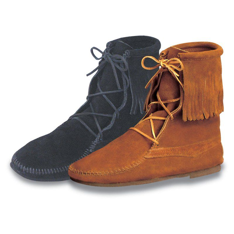 Have To Have It Minnetonka Mens Tramper Ankle Hi Moccasin Boots 58 99 Boots Moccasin Boots Minnetonka Ankle Boots