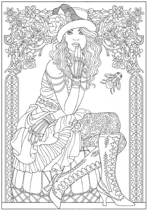 Best Halloween Coloring Books for Adults | Libros para colorear ...