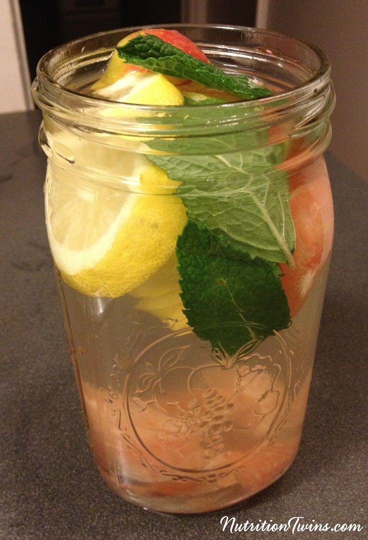 Apple Cider Vinegar Mint Quot Detox Quot Drink Recipe Energy