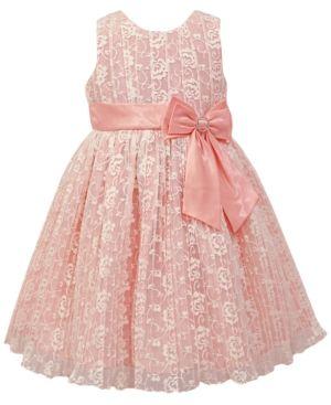 e19da435876 Jayne Copeland Pleated Lace Dress