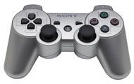 Boxshot: PS3 DualShock 3 Wireless Controller Silver by Sony Computer Entertainment