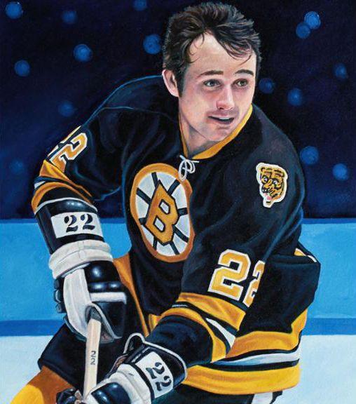 brand new 2d6b7 9df5a Brad Park, Boston Bruins by Tony Harris | Sports Art ...