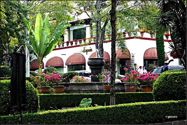 Restaurant San Ángel Inn, San Ángel D.F., de los mejores lugares para comer.