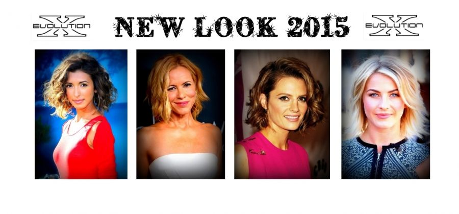 Nuovi tagli capelli medi e look mossi e ricci, moda 2015 ...