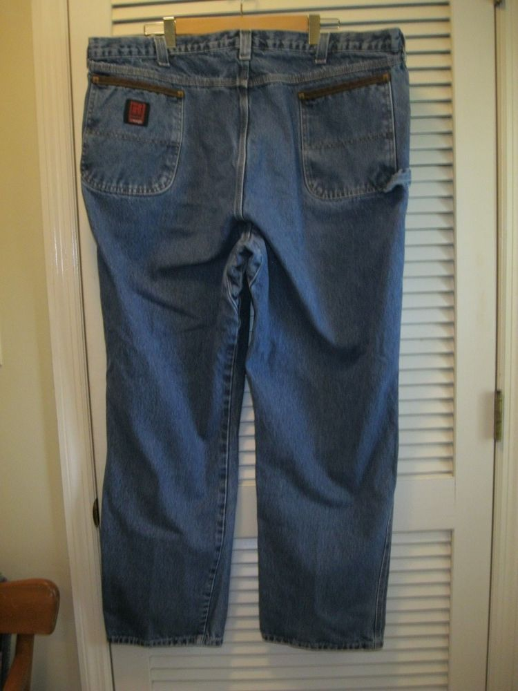 details about riggs workwear by wrangler jeans size 46 x 32 men s