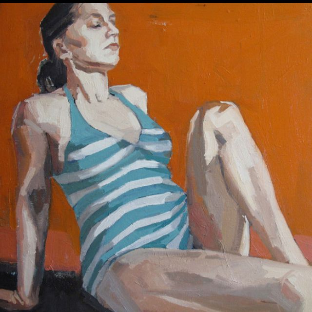 More Samantha French oil paintings