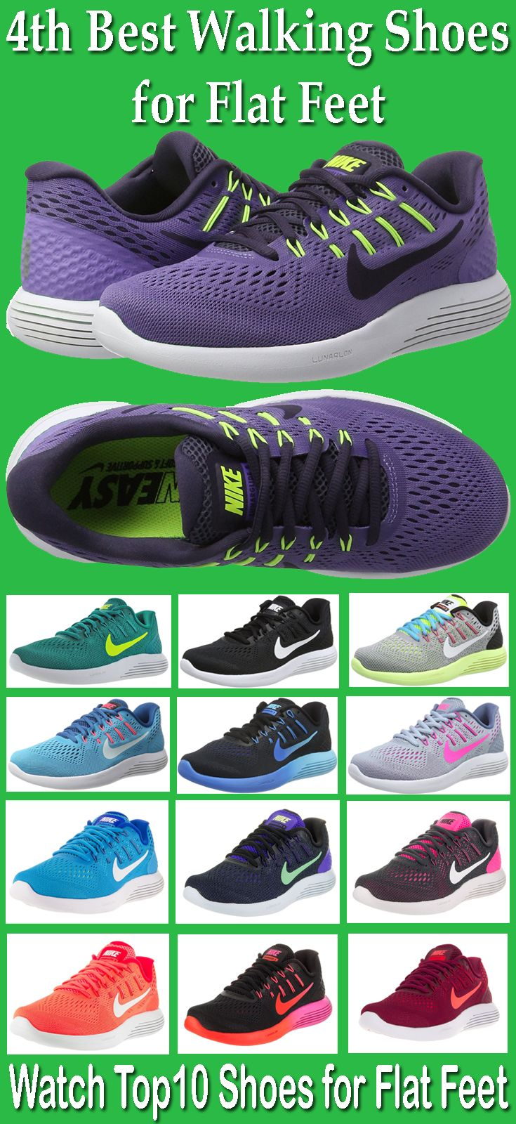 cb08384c29 Nike Lunarglide 8 is one of the best walking shoes for flat feet ...