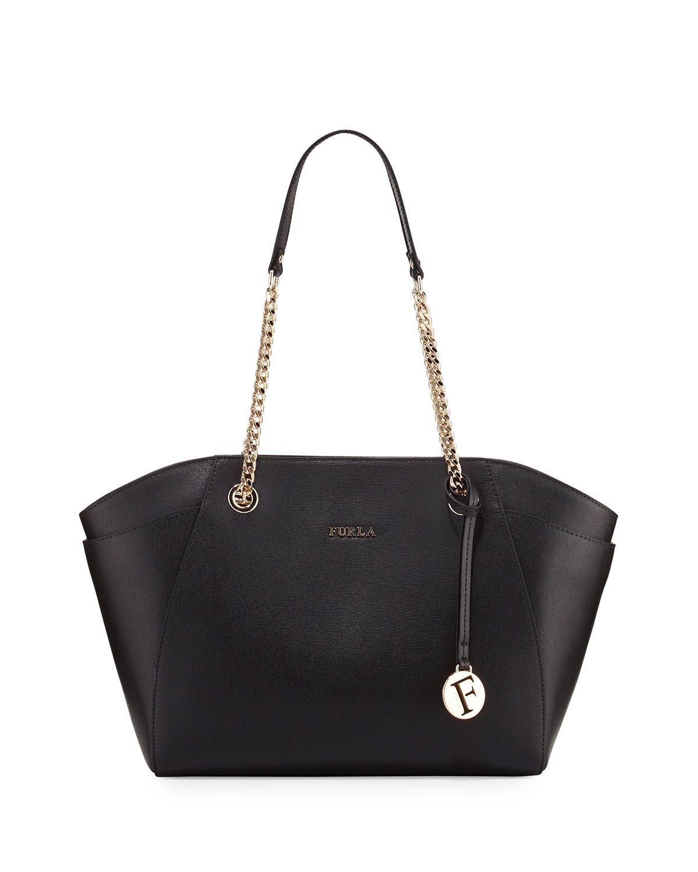 33143c7376 Furla Julia Medium Leather Tote Bag