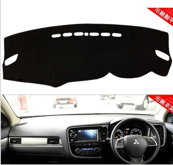 Dashmats car-styling accessories dashboard cover for Mitsubishi Outlander 2013 2014 2015 2016 2017rHD