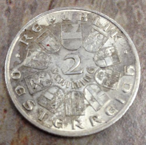 1928 2 Schilling Silver Commemorative Ch Au Condition No Reserve