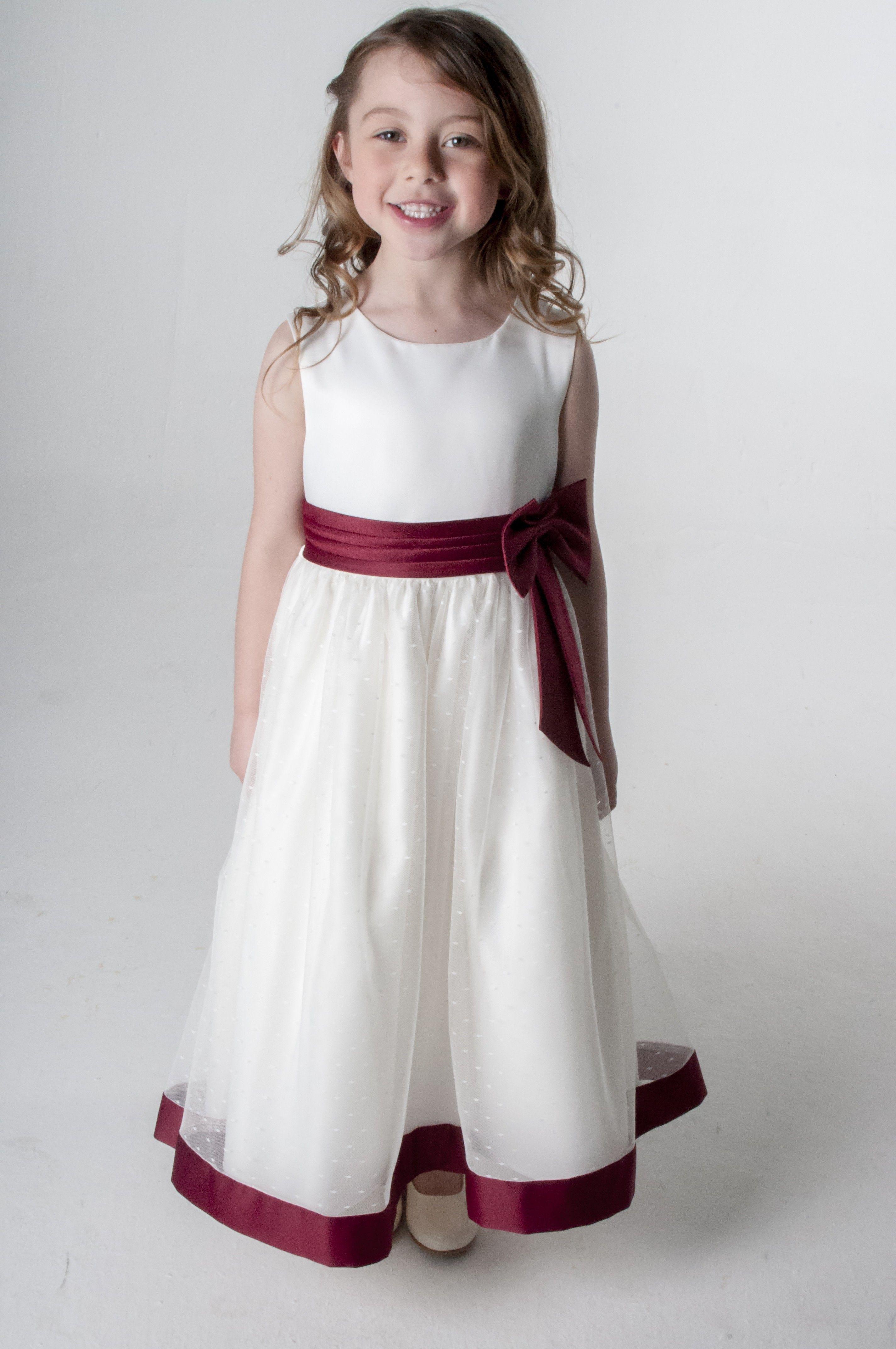Alice dress in wine flower girl dresses girls wedding