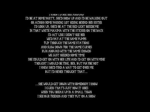 Sam Hunt Break Up In A Small Town With Lyrics Best Song Ever