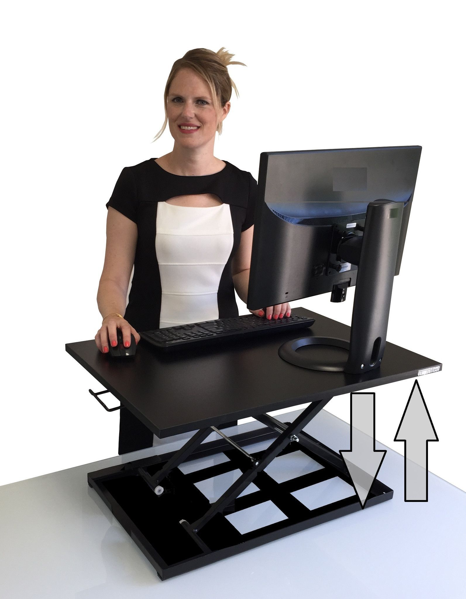 X Elite Pro Standing Desk Converter Adjustable Standing Desk Sit Stand Desk Adjustable Standing Desk Conversion